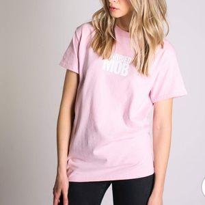 MTTB Pink Logo T Shirt Size Small NEW